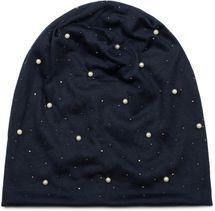 styleBREAKER Beanie Mütze mit Perlen und Strass Nieten, Slouch Longbeanie, Damen 04024140 – Bild 14