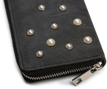 styleBREAKER Geldbörse mit Perlen besetzter Vorderseite, umlaufender Reißverschluss, Portemonnaie, Damen 02040092 – Bild 9