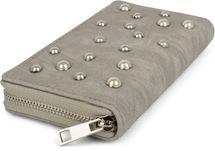 styleBREAKER Geldbörse mit Perlen besetzter Vorderseite, umlaufender Reißverschluss, Portemonnaie, Damen 02040092 – Bild 12