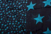 styleBREAKER Sterne Muster Loop Schlauchschal, große und kleine Sterne, Unisex 01016057 – Bild 18