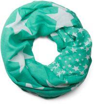 styleBREAKER Sterne Muster Loop Schlauchschal, große und kleine Sterne, Unisex 01016057 – Bild 13