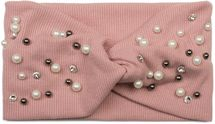 styleBREAKER Damen Haarband in Feinripp Optik mit Schleife, Strass und Perlen, Twist Knoten, Stirnband, Headband 04026011 – Bild 3