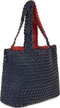 styleBREAKER XXL Wendetasche in Flecht-Optik, Shopper Tasche, 2 Taschen, Handtaschen Set, Bag in Bag, Schultertasche, Damen 02012163 – Bild 70