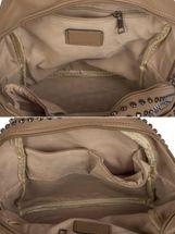 styleBREAKER Rucksack Handtasche mit Nieten, Reißverschluss, Tasche, Damen 02012226 – Bild 20
