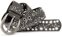 styleBREAKER Nietengürtel mit Lochnieten und Strass im Vintage Style, Nieten Gürtel, kürzbar, Damen 03010026 – Bild 21