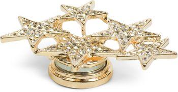 styleBREAKER Magnet Schmuck Anhänger mit versetzt angeordneten Strass besetzten Sternen für Schals, Tücher oder Ponchos, Brosche, Damen 05050061 – Bild 13