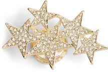 styleBREAKER Magnet Schmuck Anhänger mit versetzt angeordneten Strass besetzten Sternen für Schals, Tücher oder Ponchos, Brosche, Damen 05050061 – Bild 11