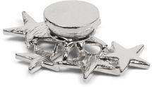 styleBREAKER Magnet Schmuck Anhänger mit versetzt angeordneten Strass besetzten Sternen für Schals, Tücher oder Ponchos, Brosche, Damen 05050061 – Bild 9