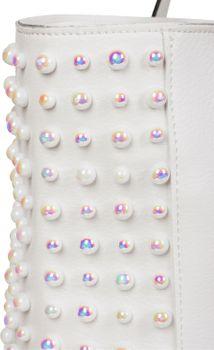 styleBREAKER XXL Shopper Taschen Set mit Perlen Verzierung, Handtasche, Bag in Bag, Schultertasche, Damen 02012230 – Bild 15