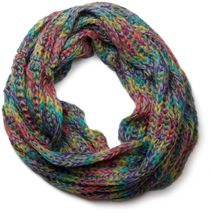 styleBREAKER colourful chunky knit tube scarf 01018110 – Bild 2