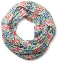 styleBREAKER colourful chunky knit tube scarf 01018110 – Bild 1