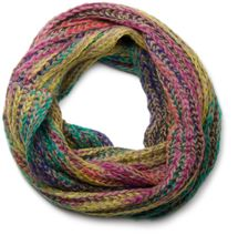 styleBREAKER colourful chunky knit tube scarf 01018110 – Bild 5