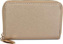 styleBREAKER kleine Geldbörse mit glänzender Oberfläche und Struktur Muster, Reißverschluss, Portemonnaie, Damen 02040103 – Bild 5