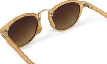 styleBREAKER Sonnenbrille in Holz Optik und runden Gläsern, Kunststoff-Metall-Gestell, Unisex 09020083 – Bild 20