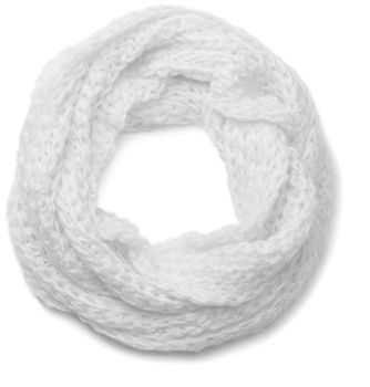styleBREAKER classic chunky knit loop tube scarf in wool look, knitted scarf 01018113 – Bild 19