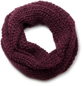 styleBREAKER classic chunky knit loop tube scarf in wool look, knitted scarf 01018113 – Bild 20