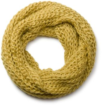 styleBREAKER classic chunky knit loop tube scarf in wool look, knitted scarf 01018113 – Bild 4