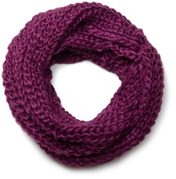 styleBREAKER classic chunky knit loop tube scarf in wool look, knitted scarf 01018113 – Bild 21