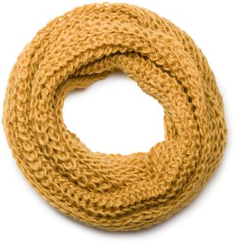 styleBREAKER classic chunky knit loop tube scarf in wool look, knitted scarf 01018113 – Bild 23