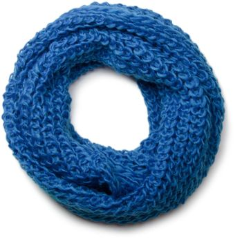 styleBREAKER classic chunky knit loop tube scarf in wool look, knitted scarf 01018113 – Bild 5