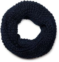 styleBREAKER classic chunky knit loop tube scarf in wool look, knitted scarf 01018113 – Bild 24