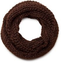 styleBREAKER classic chunky knit loop tube scarf in wool look, knitted scarf 01018113 – Bild 26