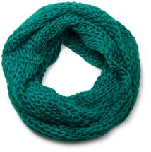 styleBREAKER classic chunky knit loop tube scarf in wool look, knitted scarf 01018113 – Bild 9
