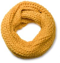 styleBREAKER classic chunky knit loop tube scarf in wool look, knitted scarf 01018113 – Bild 10