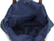 styleBREAKER runde Korbflecht Schultertasche, Strandtasche mit langen Henkeln, Flechttasche, Tasche geflochten, Shopper, Damen 02012232 – Bild 9