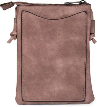 styleBREAKER Mini Bag Umhängetasche mit Nieten in Stern Form, Schultertasche, Handtasche, Tasche, Damen 02012235 – Bild 2