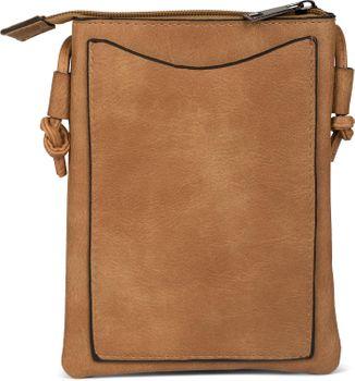 styleBREAKER Mini Bag Umhängetasche mit Nieten in Stern Form, Schultertasche, Handtasche, Tasche, Damen 02012235 – Bild 12