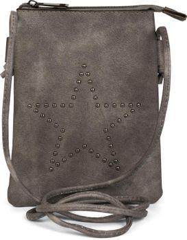 styleBREAKER Mini Bag Umhängetasche mit Nieten in Stern Form, Schultertasche, Handtasche, Tasche, Damen 02012235 – Bild 5