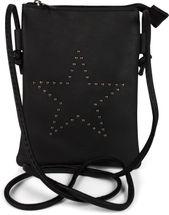 styleBREAKER Mini Bag Umhängetasche mit Nieten in Stern Form, Schultertasche, Handtasche, Tasche, Damen 02012235 – Bild 3