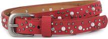 styleBREAKER schmaler Gürtel mit Nieten, Perlen und Strass, Vintage Nietengürtel, kürzbar, Damen 03010086 – Bild 15