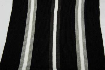 styleBREAKER Feinstrick Herren Schal im Streifen Look, Strickschal mit Fransen, weich und warm 01018117 – Bild 19