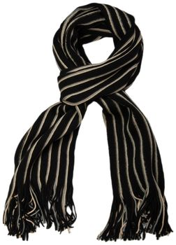 styleBREAKER fine knit mens scarf in stripes look, knitted scarf 01018117 – Bild 20