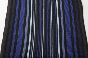 styleBREAKER fine knit mens scarf in stripes look, knitted scarf 01018117 – Bild 31