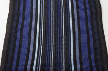 styleBREAKER Feinstrick Herren Schal im Streifen Look, Strickschal mit Fransen, weich und warm 01018117 – Bild 32