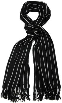 styleBREAKER fine knit mens scarf in stripes look, knitted scarf 01018117 – Bild 17