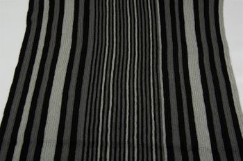 styleBREAKER fine knit mens scarf in stripes look, knitted scarf 01018117 – Bild 34