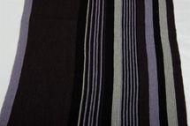 styleBREAKER Feinstrick Herren Schal im Streifen Look, Strickschal mit Fransen, weich und warm 01018117 – Bild 38