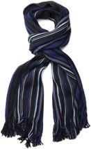 styleBREAKER fine knit mens scarf in stripes look, knitted scarf 01018117 – Bild 30