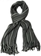 styleBREAKER fine knit mens scarf in stripes look, knitted scarf 01018117 – Bild 41