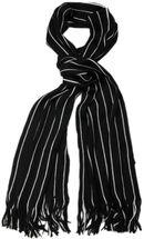 styleBREAKER Feinstrick Herren Schal im Streifen Look, Strickschal mit Fransen, weich und warm 01018117 – Bild 17
