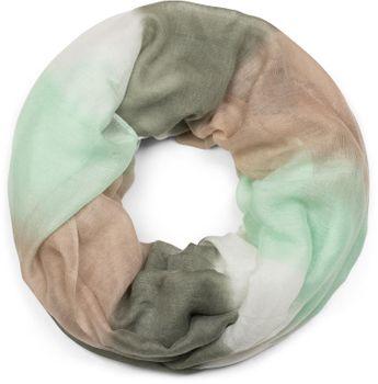 styleBREAKER Loop Schal mit Streifen Farbverlauf Muster, Schlauchschal, Tuch, Unisex 01018097 – Bild 16