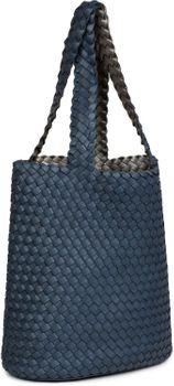 styleBREAKER Wendetasche in Flecht Optik, Shopper, Handtasche, Set aus 2 Taschen, Bag in Bag, Schultertasche, Damen 02012182 – Bild 45