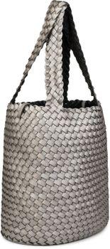 styleBREAKER Wendetasche in Flecht Optik, Shopper, Handtasche, Set aus 2 Taschen, Bag in Bag, Schultertasche, Damen 02012182 – Bild 12