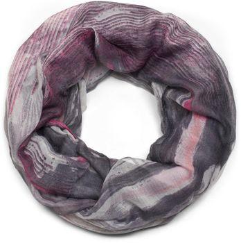 styleBREAKER Loop Schal mit Aquarell Wischeffekt Muster Print, Schlauchschal, Tuch, Damen 01016158 – Bild 2