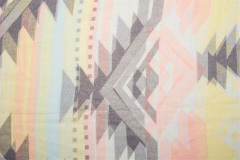 styleBREAKER Loop Schal mit Kelim Azteken Muster Print, Schlauchschal, Tuch, Damen 01016161 – Bild 3