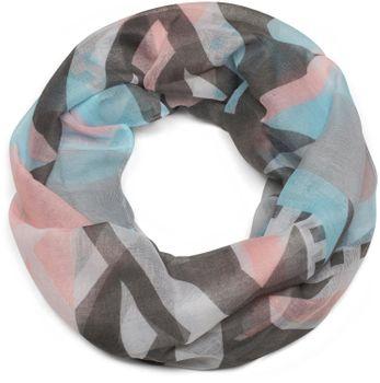 styleBREAKER Loop Schal mit Kelim Azteken Muster Print, Schlauchschal, Tuch, Damen 01016161 – Bild 7
